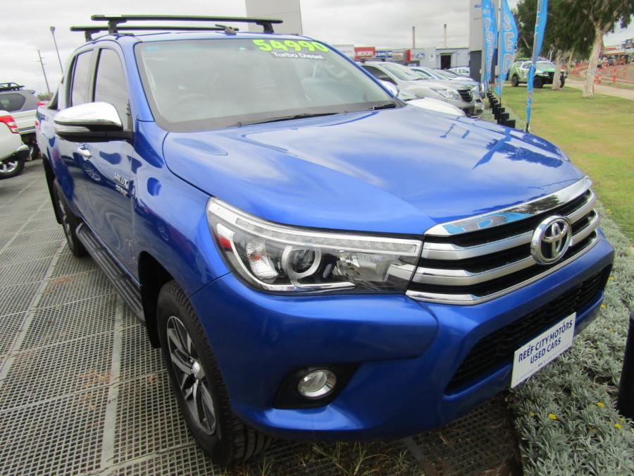2017 Toyota HiLux GUN126R SR5 Utility Image 1