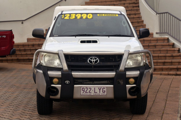 2009 Toyota HiLux KUN26R MY09 SR Cab chassis Image 3
