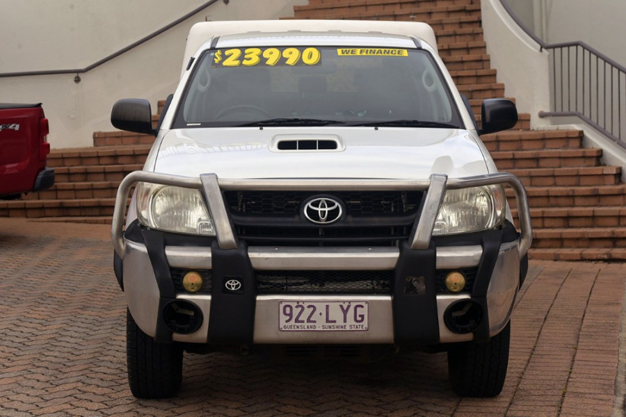 2009 Toyota HiLux KUN26R MY09 SR Cab chassis Mobile Image 3