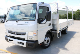 Fuso Canter 515 TRAY FREE SERVICING + INSTANT ASSET WRITE OFF 515 WIDE CAB MANUAL TRADIE TRAY