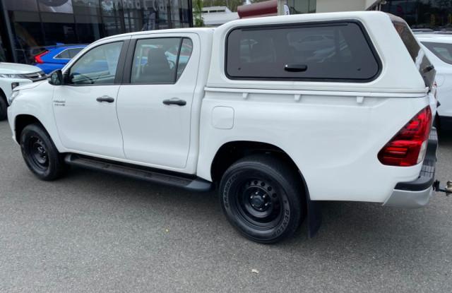 2017 Toyota HiLux GUN126R Turbo SR 4x4 double cab