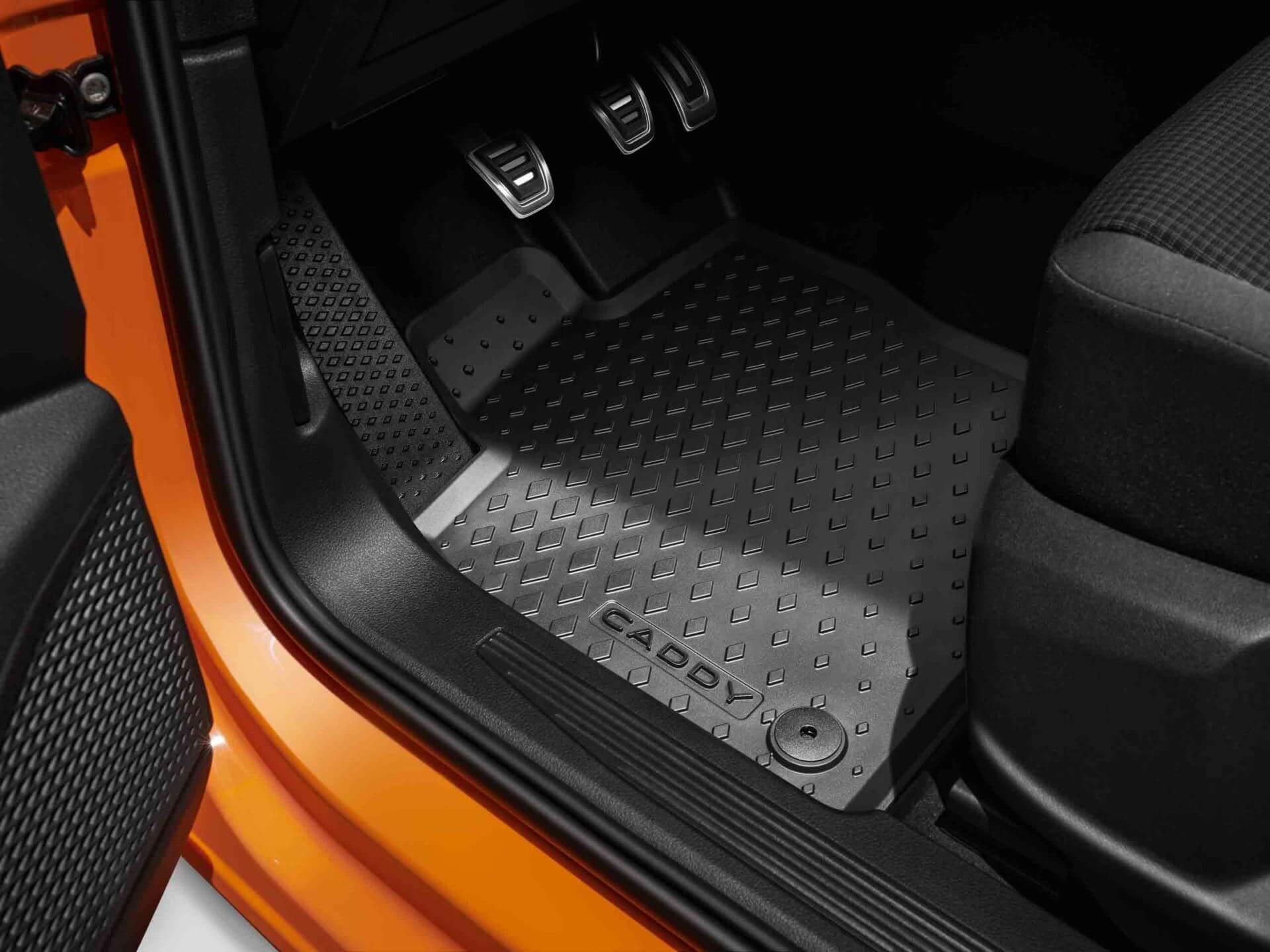All-weather rubber floor mats