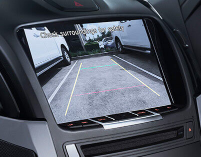 Isuzu UTE Satnav And Reversing Camera