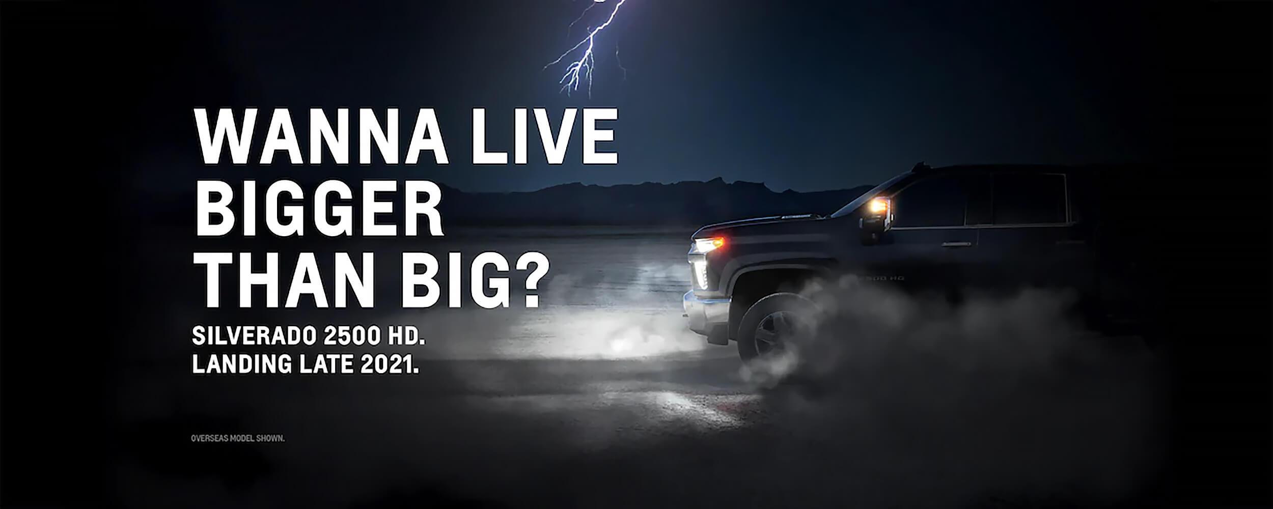 Silverado 2500HD Coming Soon
