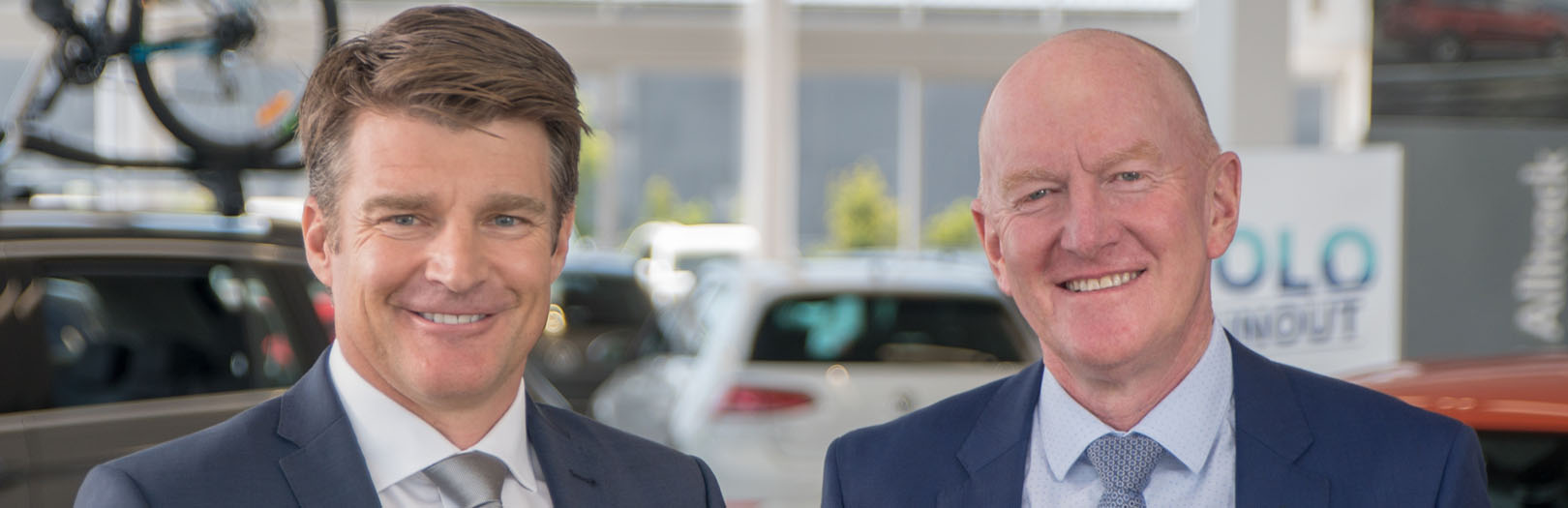 John Eastham and Garry Crick from Crick Auto Group