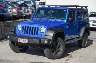 2015 Jeep Wrangler JK MY16 Unlimited Sport Softtop Image 2