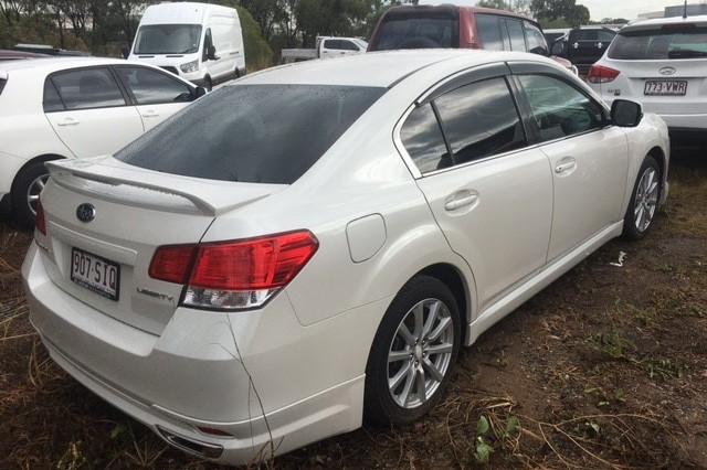 2011 MY12 Subaru Liberty B5 MY12 2.5I Sedan