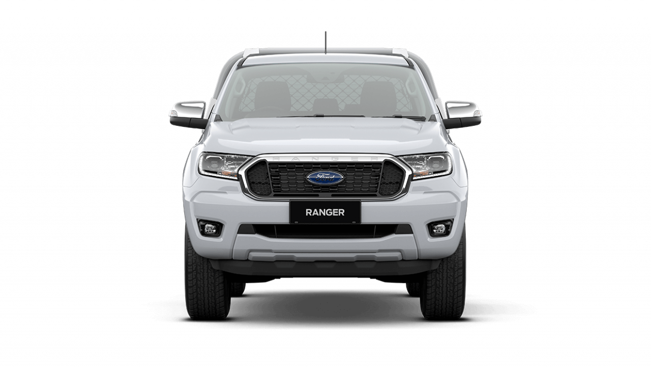 2020 MY21.25 Ford Ranger PX MkIII XLT Double Cab Chassis Utility Image 3
