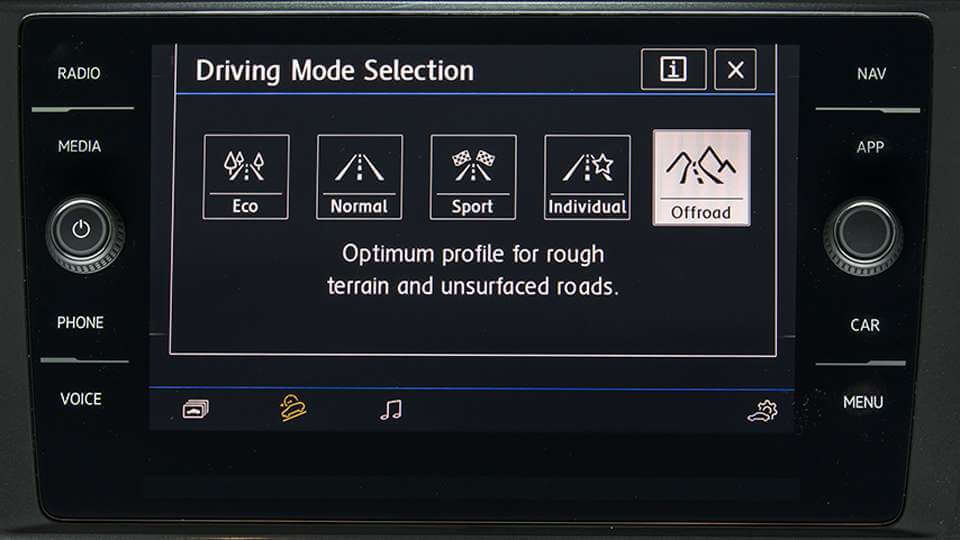 Driving Profile Selection Image