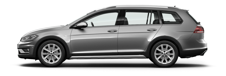 Take the Golf Alltrack for a test drive. Image
