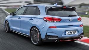 i30 N Powerful 2.0 litre Turbo-GDi engine delivers up to 202kW and 353 Nm torque.