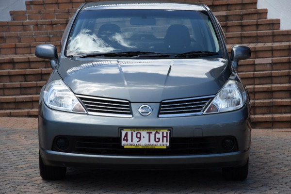 2009 MY07 Nissan Tiida C11 MY07 ST-L Sedan Image 2