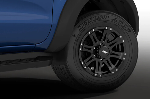 "<img src=""Alloy Wheels - Raptor Style 17X8 35+ Offset - (Fender Flares required)"