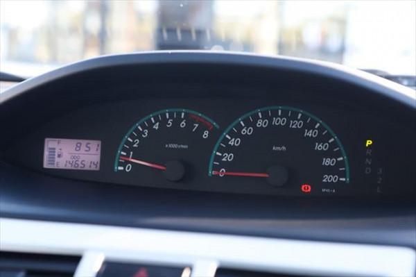 2012 Toyota Yaris NCP93R MY11 YRS Sedan