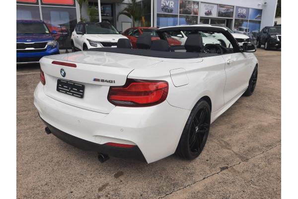 2018 BMW 2 Series F23 LCI M240i Convertible Image 5