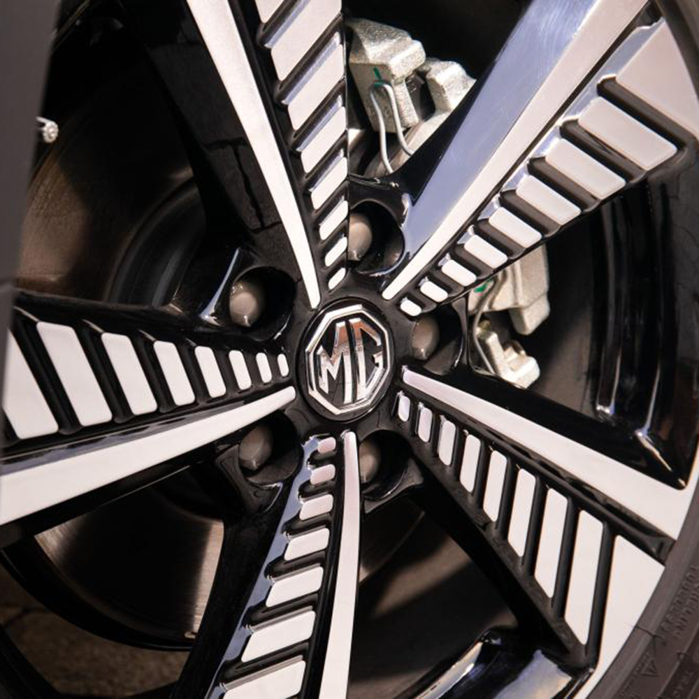 Unique alloy wheels