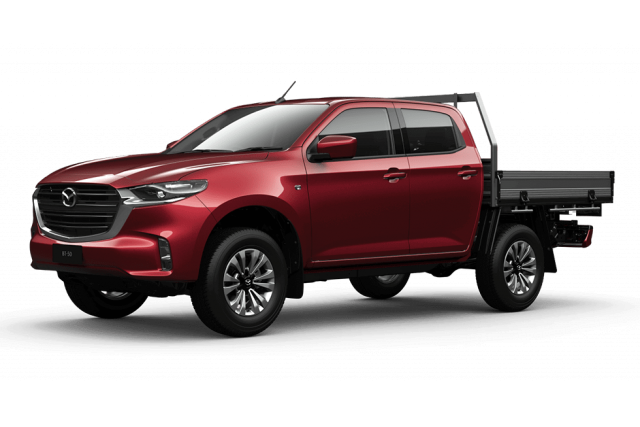 2020 MY21 Mazda BT-50 TF XT 4x4 Dual Cab Chassis Other