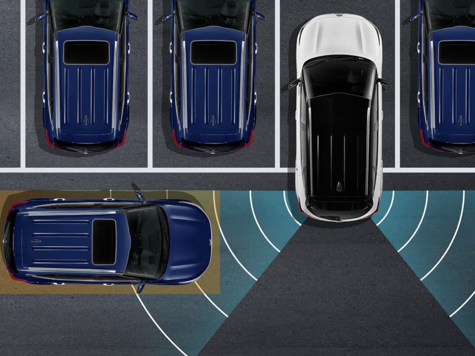 Rear Cross-Traffic Collision Avoidance Assist (RCCA)