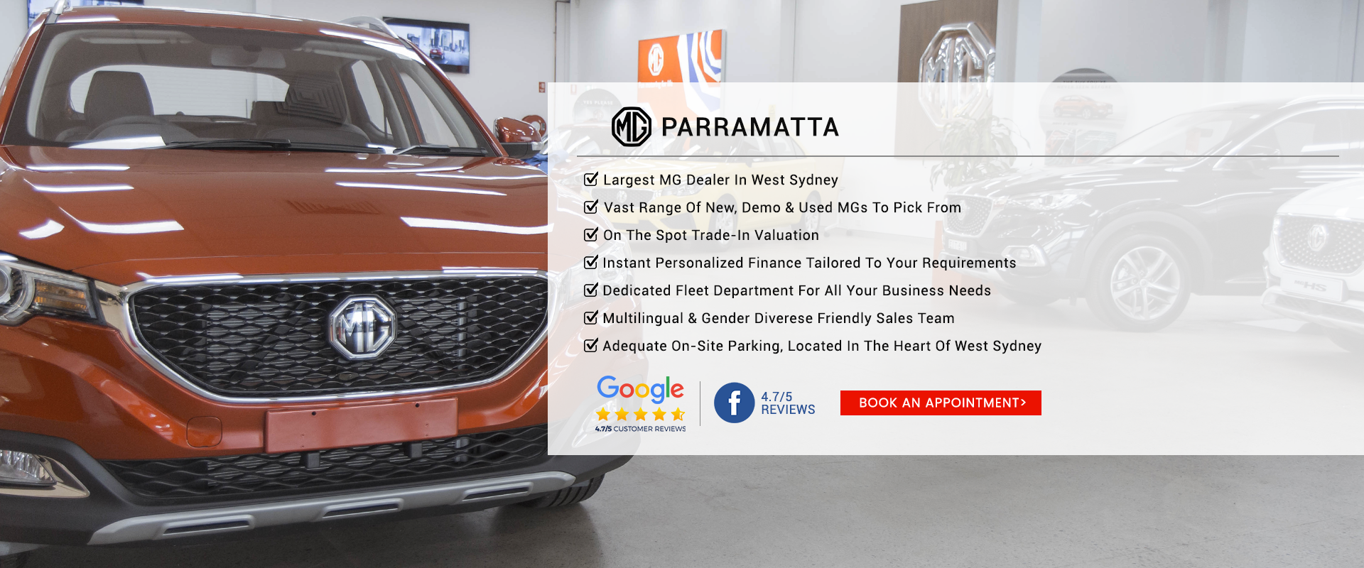 Parramatta MG Dealer
