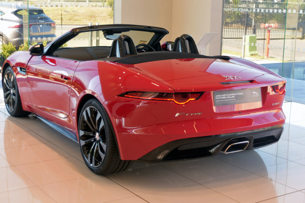 2019 MY19.5 Jaguar F-TYPE X152 R-Dynamic Convertible Convertible Image 2