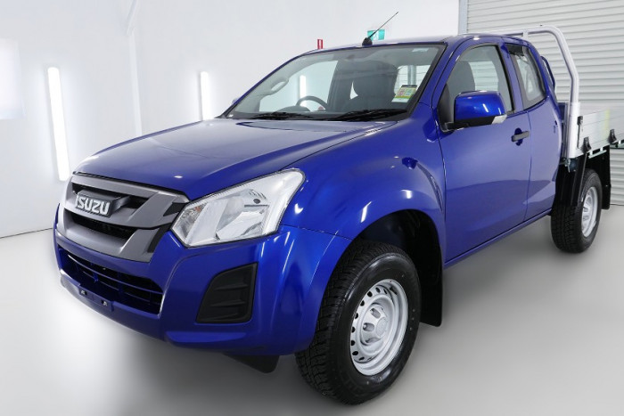 2019 Isuzu UTE D-MAX SX Space Cab Chassis 4x4 Space cab