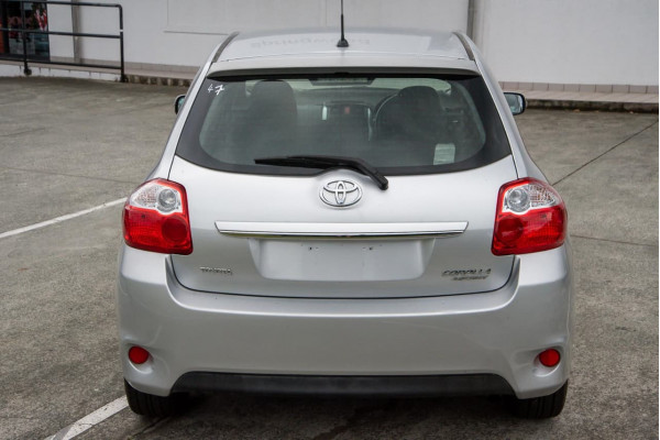 2010 Toyota Corolla ZRE152R MY11 Ascent Hatchback Image 4