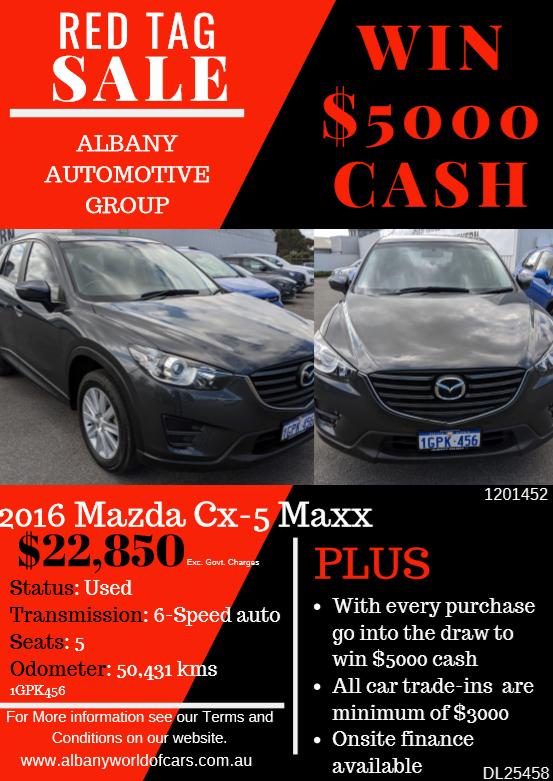 2016 Mazda CX - 5 Maxx