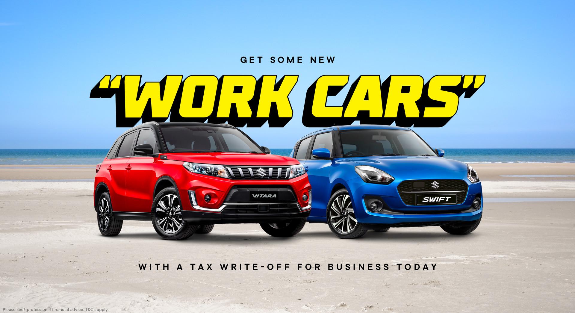 Suzuki Get Some New Work Cars
