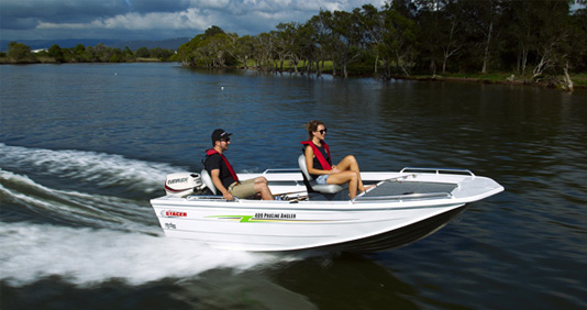 409S Proline Angler Features
