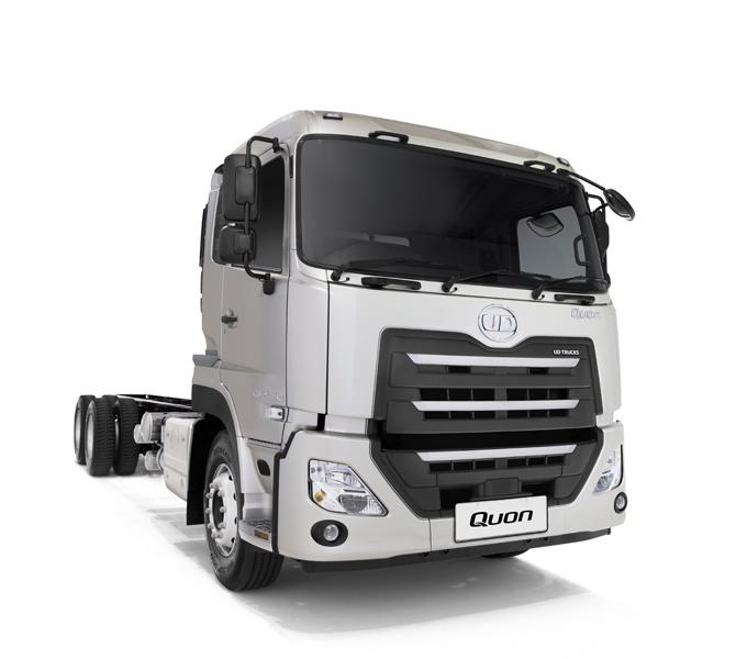 8 Litre Quon The CW25 360LAA Model