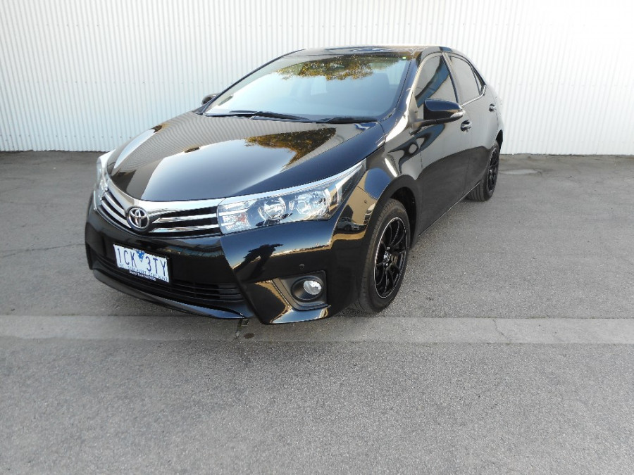 2014 Toyota Corolla ZRE172R Ascent Sedan