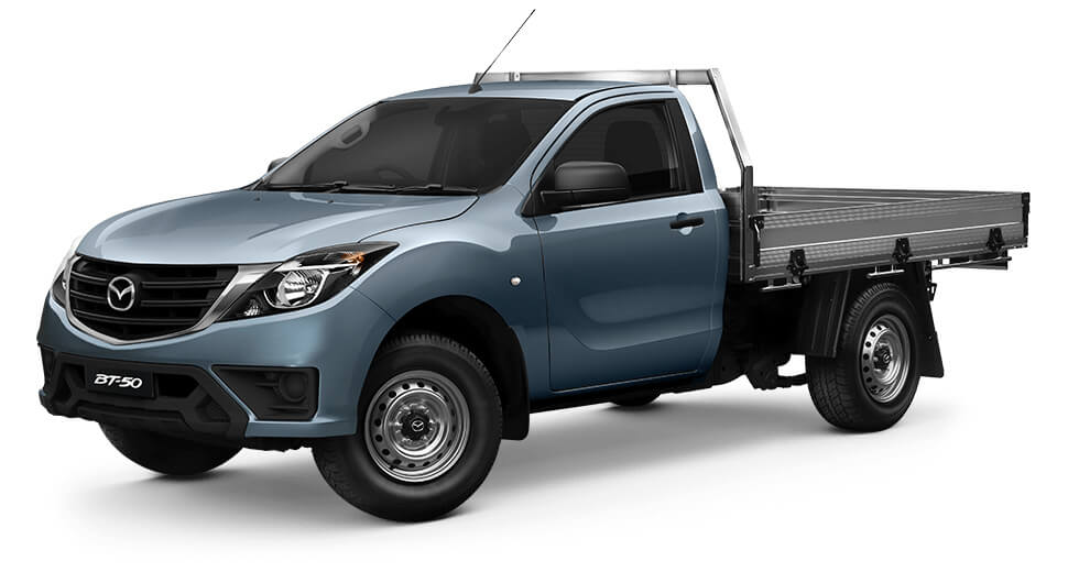 2020 MY19 Mazda BT-50 UR 4x4 3.2L Single Cab Chassis XT Cab chassis