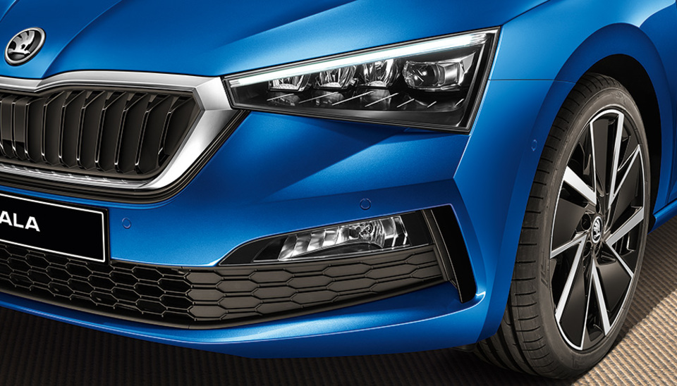 Scala Full LED Headlights with AFS and Fog Lamps