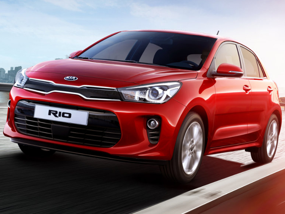 All New Rio A Bold Exterior