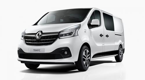2020 Renault Trafic L2H1 Long Wheelbase Crew Lifestyle Van