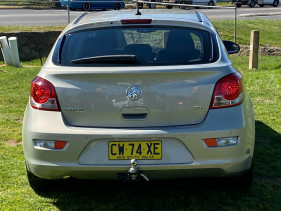 2012 Holden Cruze JH SERIES II MY12 CDX Hatchback