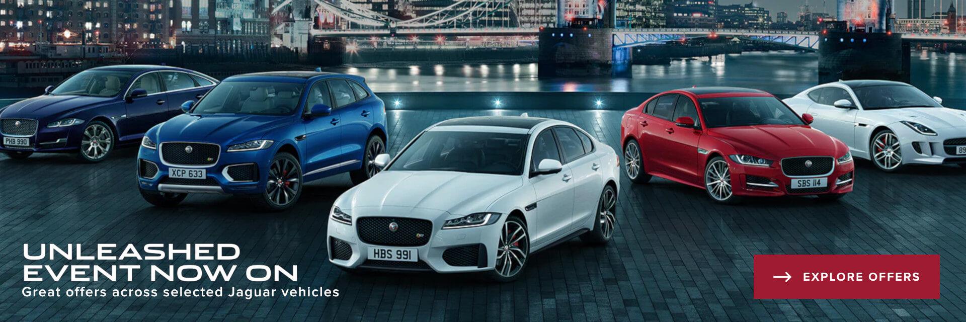 Unleashed Event Jaguar Offers