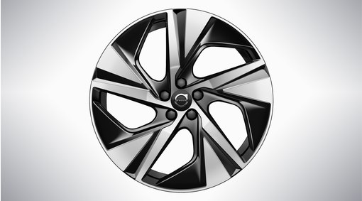"20"" 5-Spoke Black Diamond Cut Alloy Wheel – 1094"
