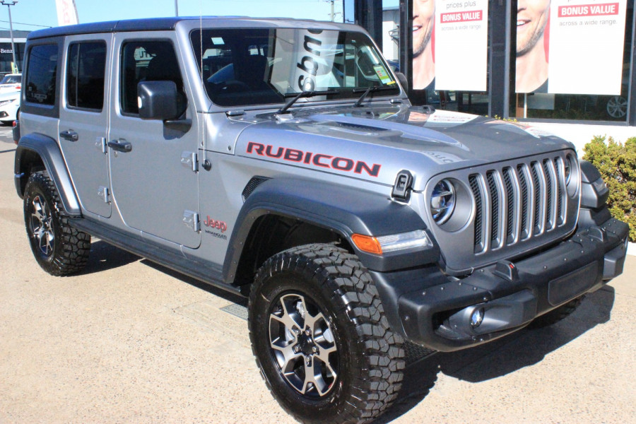 2020 MY0  Jeep Wrangler JL Rubicon Unlimited Hardtop Image 1