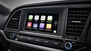 Elantra Stream music, talk to friends, and belt out commands