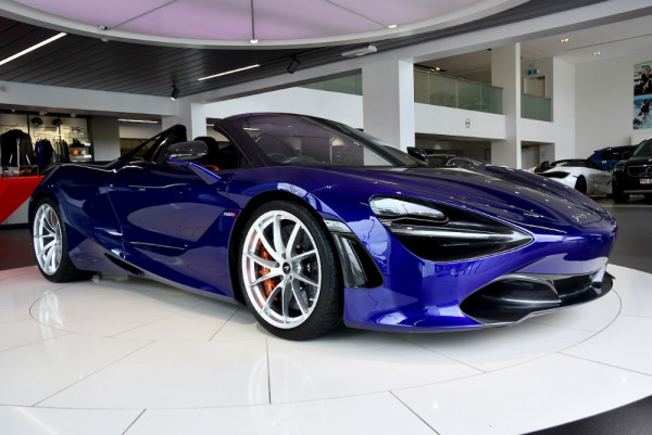 2019 Mclaren 720s P14 MY19 Performance Convertible