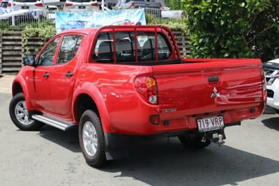 2015 Mitsubishi Triton MN MY15 GLX Double Cab Utility Image 2