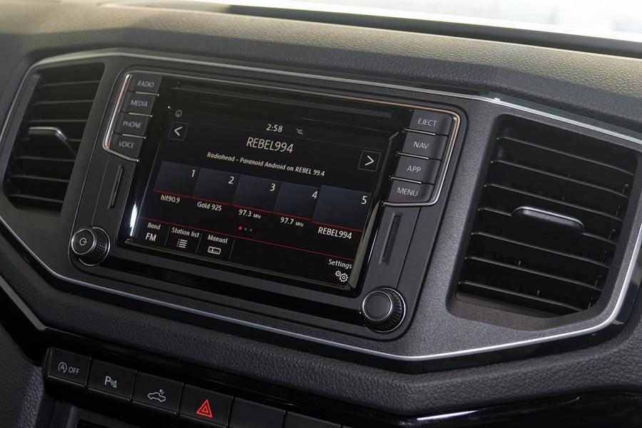 2019 MYV6 Volkswagen Amarok 2H Highline Black 580 Utility Image 13