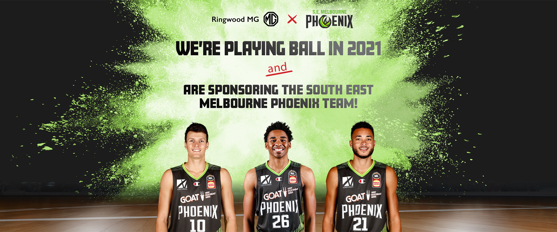 We're playing ball in 2021 and are sponsoring the South East Melbourne Phoenix team!