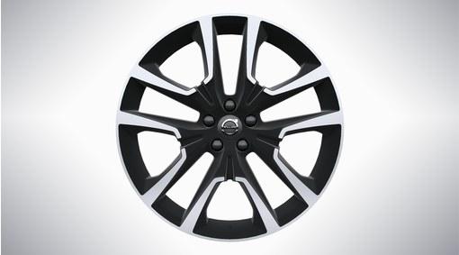 """20"""" 5-Double Spoke Matt Black Diamond Cut Alloy Wheel - W007"""