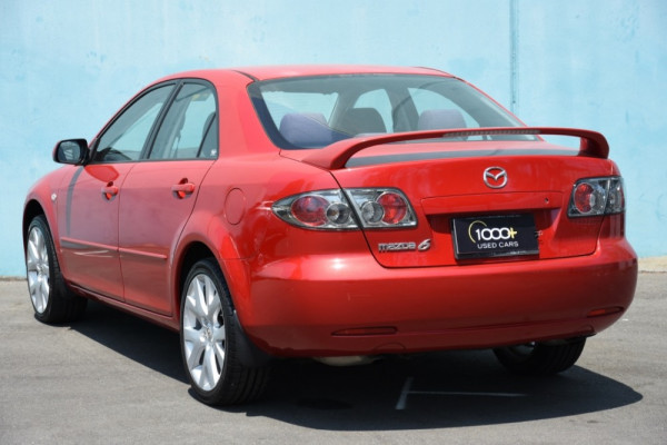 2006 Mazda 6 GG1032 Limited Sedan Image 3