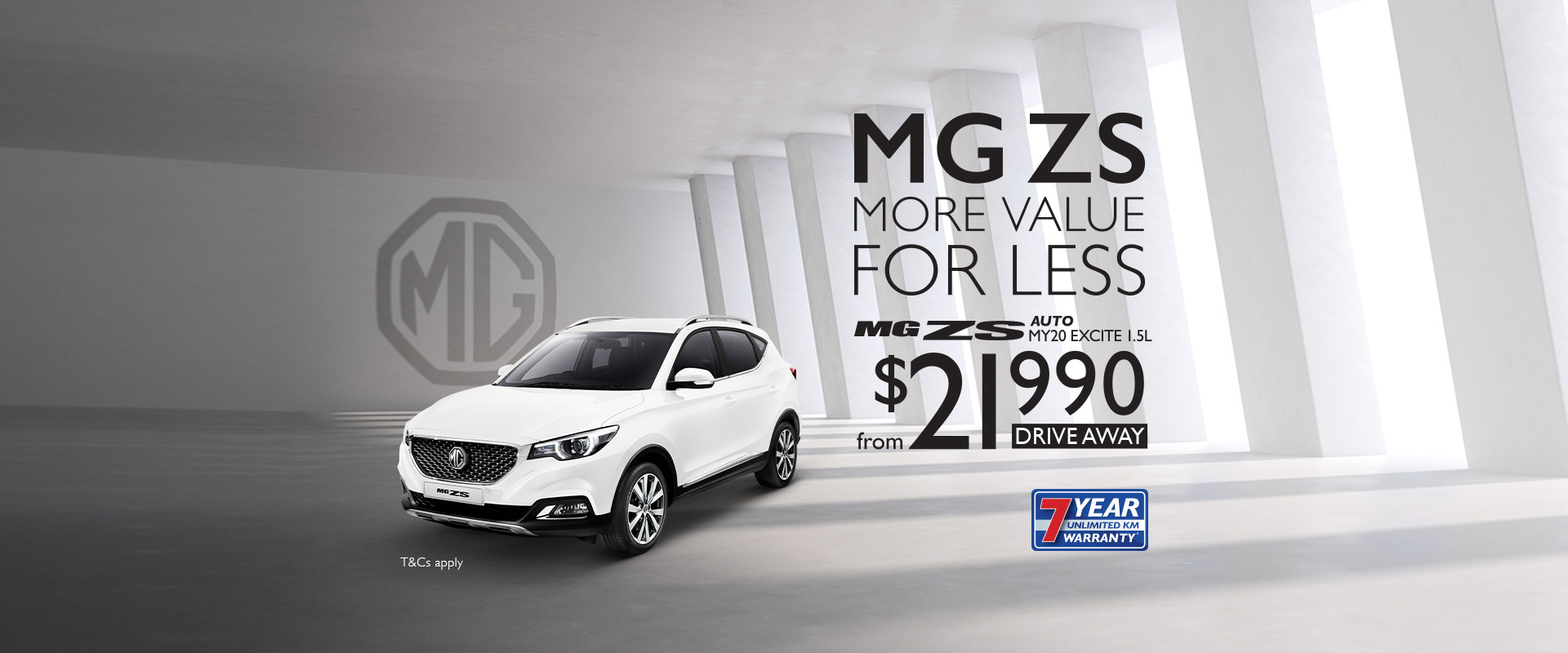 MG ZS more value for less