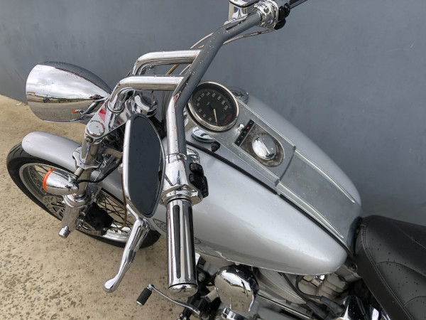 2002 Harley Davidson Softail FXST Standard Motorcycle Image 4