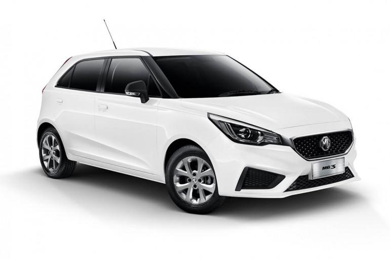 2021 MY20 MG MG3 SZP1 Core with Nav Hatchback
