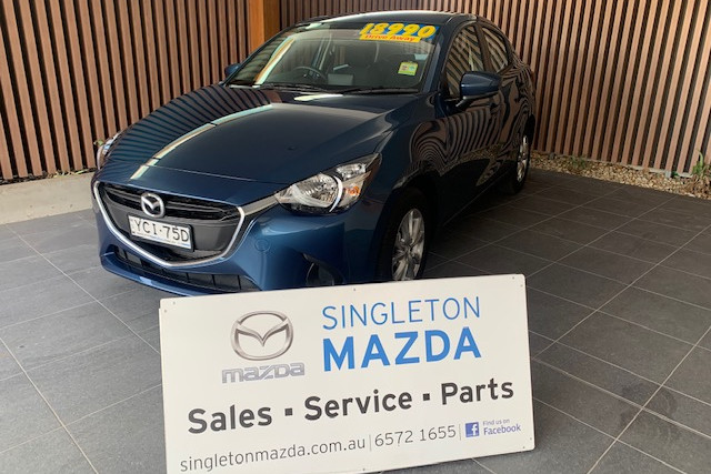 2019 Mazda 2 DL Series Maxx Sedan Sedan